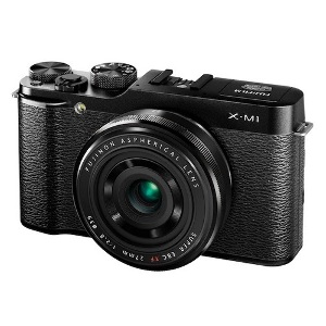 Fujifilm X-M1 + XF27mm F2.8 Lens