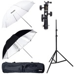 Phottix Dual Umbrella Strobist Kit