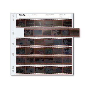 Print File 35mm Archival Storage for Negatives – 6 Strips x 6 Frames – 25 Sheets