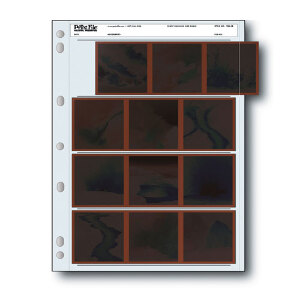 Print File 120mm Archival Storage for Negatives – 4 Strips x 3 Frames – 25 Sheets