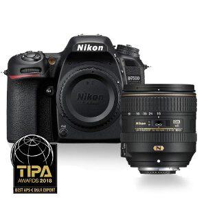 Nikon D7500 DSLR + 16-80mm f/2.8-4E ED VR
