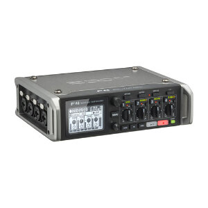 Zoom F4 Multitrack Field Recorder with PCF4 Carry Case