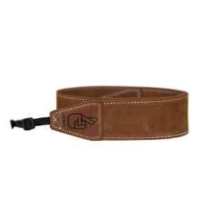 Lucky Standard 53 Classic Camera Strap – Brown - Long Length