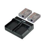 Jupio LP-E8 Dual Charger Kit