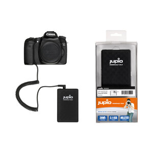 Jupio PowerVault DSLR for Canon LP-E6