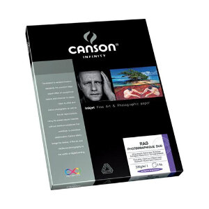 Canson Infinity Rag Photographique Duo 220gsm – A4 Paper – 10 Sheets
