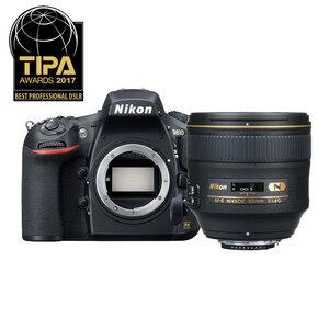Nikon D810 DSLR + 85mm f/1.4 G Lens