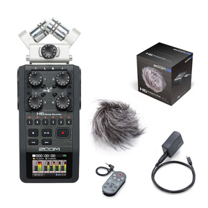 Zoom H6 Handy Recorder + APH-6 Accessory Pack