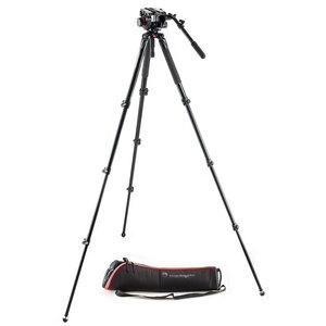 Manfrotto MVT535AQ Legs + 504HD Fluid Video Head - MVK504AQ