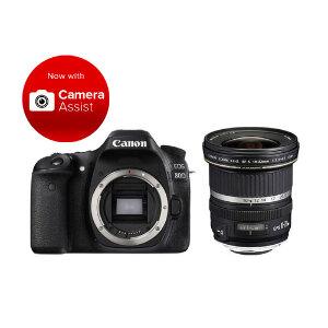 Canon EOS 80D DSLR + 10-22mm F/3.5-4.5 USM Lens