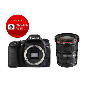 Canon EOS 80D DSLR + 17-40mm F/4L USM Lens