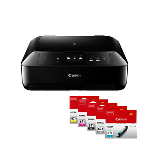 Canon PIXMA MG7760 Multi-Function Printer + Set of Extra Inks