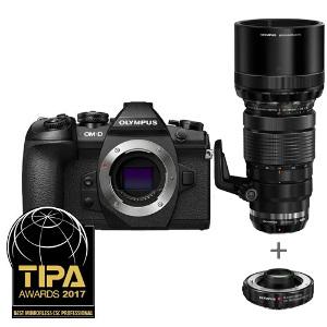 Olympus OM-D E-M1 Mark II + 40-150mm PRO Lens + Teleconverter 1.4x