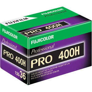 Fujifilm PRO 400H Medium Format Colour Film - 120