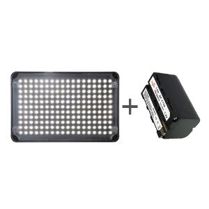 Aputure Amaran AL-H198 LED light with Battery