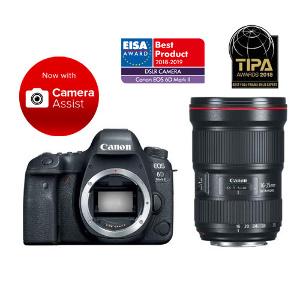 Canon EOS 6D Mark II DSLR + 16-35mm F/2.8L III USM Lens