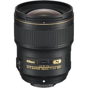 Nikkor AF-S 28mm f/1.4E ED Lens