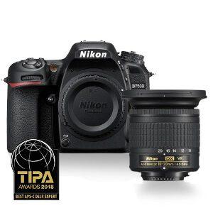 Nikon D7500 DSLR + 10-20mm f/4.5-5.6G VR Lens