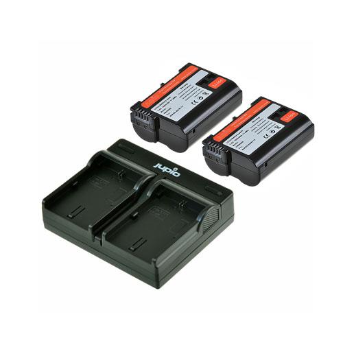 Jupio EN-EL15 Dual Charger Kit