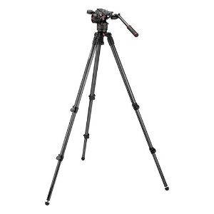 Manfrotto Nitrotech N8 Video Head and 535C Carbon Fibre Tripod