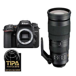 Nikon D7500 DSLR + 200-500mm f/5.6E ED VR Lens