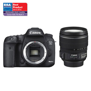 Canon EOS 7D II DSLR + 15-85mm IS USM Lens - Platinum Kit Ex-Demo