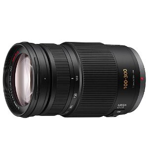 Panasonic Lumix G Vario 100-300mm f/4-5.6 MEGA O.I.S. Lens – Micro Four Thirds Ex-Display