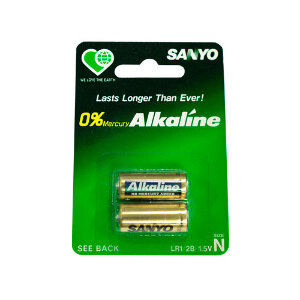 Sanyo Alkaline Battery LR1 N 1.5V NoPackaging