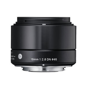 Sigma 19mm f/2.8 EX DN Art Series - MFT Mount