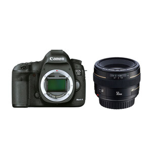 Canon EOS 5D Mark III DSLR + 50mm F/1.4 USM Lens