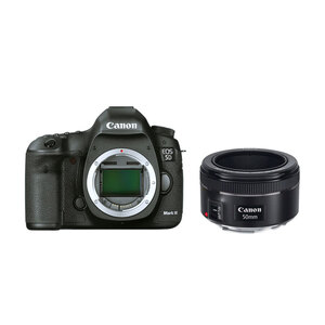 Canon EOS 5D Mark III DSLR + 50mm F/1.8 STM Lens