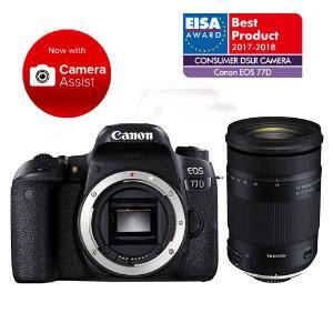 Canon EOS 77D DSLR + 18-400mm f/3.5-6.3 Di II VC HLD Lens