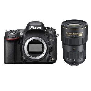 Nikon D610 DSLR + 16-35mm f/4G ED VR Lens