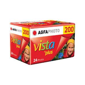 Agfa Vista Plus ISO 200 35mm Colour Negative Film - 24 Exposures