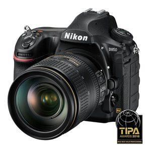 Nikon D850 DSLR + 24-120mm f/4G ED VR Lens