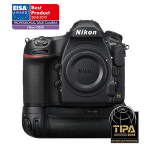 Nikon D850 DSLR + MB-D18 Battery Grip