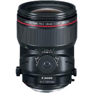 Canon TS-E 50mm f/2.8L Macro Tilt Shift Lens