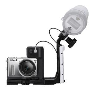 Nikon 1 AW1 Waterproof Compact +11-27.5mm Lens + SB-N10 Underwater Speedlight & Bracket