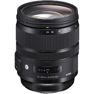 Sigma 24-70mm f/2.8 DG OS HSM Art Series Lens - Ex Demo (Missing plastic around lens)