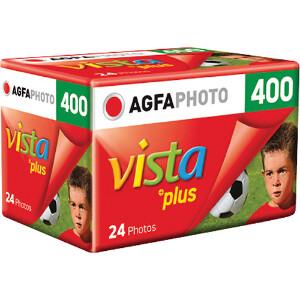 Agfa Vista Plus 400 ISO 35mm Film - 24 Exposure