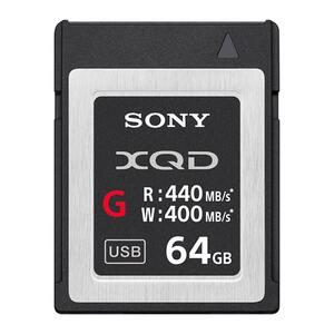 Sony XQD G Series 64GB - 440mb/s