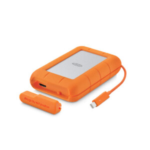 LaCie Rugged RAID Thunderbolt USB3.0 Portable Drive - 4TB