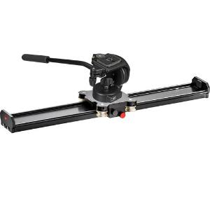 Manfrotto Camera Slider + 128RC QR Micro Fluid Head