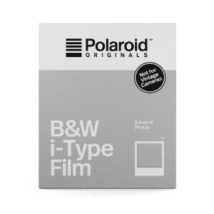 Polaroid Originals I-Type Black & White Film – 8 Pack