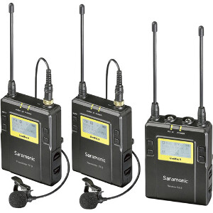 Saramonic UWMIC9 Wireless Twin Lavalier Kit