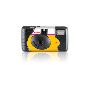Kodak Power Flash Single Use Camera 27 + 12 Exposures - Expired