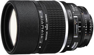 Nikon AF 135mm f/2D DC (Defocus Control) Lens No-Packaging