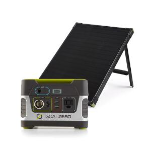 Goal Zero Yeti 150 Generator + Boulder 50 Solar Panel Kit