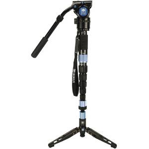 Sirui P-326S Carbon Fibre Monopod with VH-10X Head