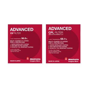Manfrotto Advanced UV + CPL Filter Kit